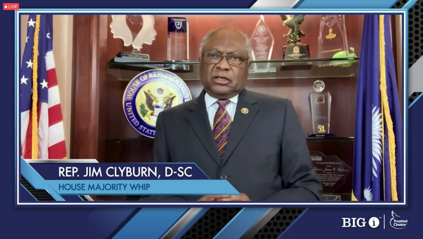House Majority Whip Clyburn Calls for Investment in America