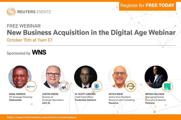 Join Leaders from Prudential, Nationwide, AXA XL for a Free Webinar