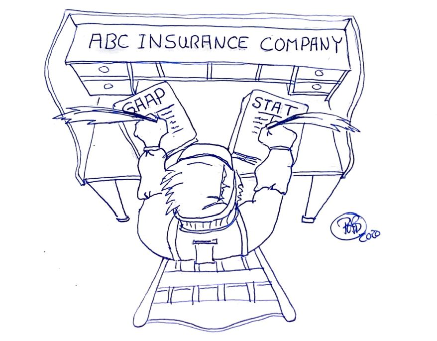 Student of the Industry: Do Insurers Have Two Sets of Books? Is that Legal?