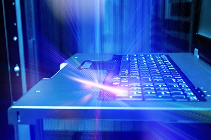 are businesses covered if a cyber event damages equipment?