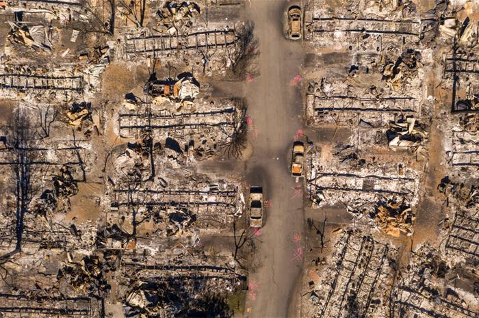 is burnt mobile home removal covered under extra expenses?